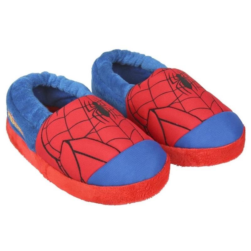 c7085de7292 Bestel Blauw/rode Marvel Spiderman pantoffels/ sloffen voor jongens ...