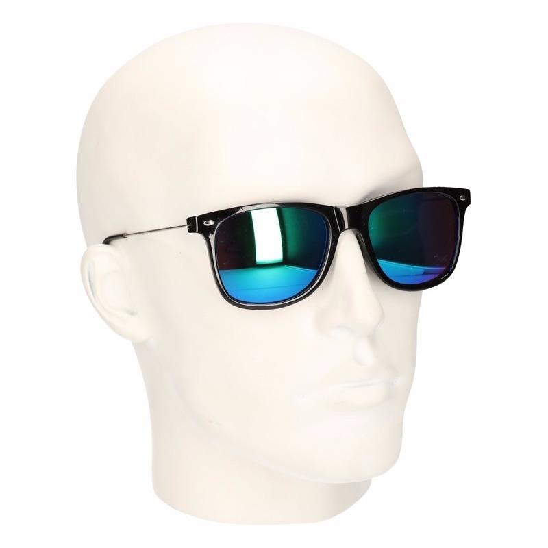 f9b75e7b025a48 Bestel Clubmaster zonnebril met spiegel glazen in de winter winkel