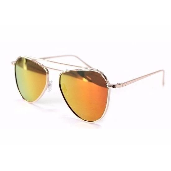 0f420251d652c2 Bestel Oranje piloten dames spiegel zonnebril model 2002 in de ...