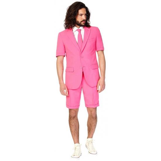 179434d04c3 Bestel Roze heren zomer kostuum maat 50 (L) met gratis zonnebril in ...