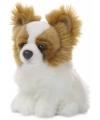 Anna Club pluche Papillon hond knuffel 19 cm