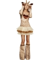 Giraffe jurkje voor dames