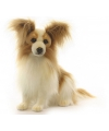 Hansa pluche papillon hond knuffel 41 cm