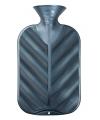 Kruik metallic grijs 2 liter kunststof