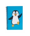 Pingu�n notitieboekje blauw 18cm