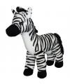Pluche knuffel zebra 32 cm
