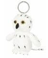Sneeuwuil sleutelhanger 10 cm