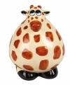 Spaarpot giraffe 12 cm